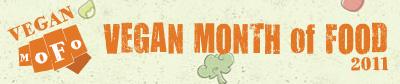 Vegan Month of Food 2011