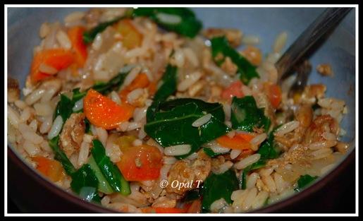 Veggies n Brown Rice