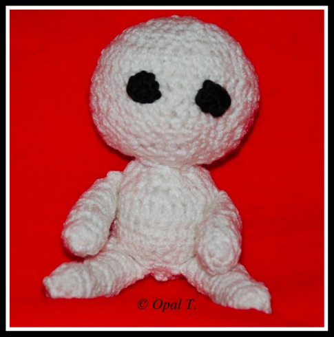 Crochet Amigurumi Chibi Cat