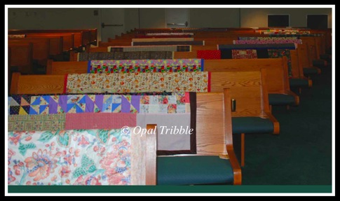Quilts Global Missions Sunday 1