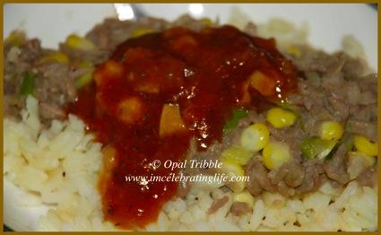 Vegan dhal brown rice