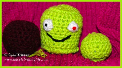 Amigurumi balls Monster