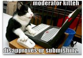 Cat spam police