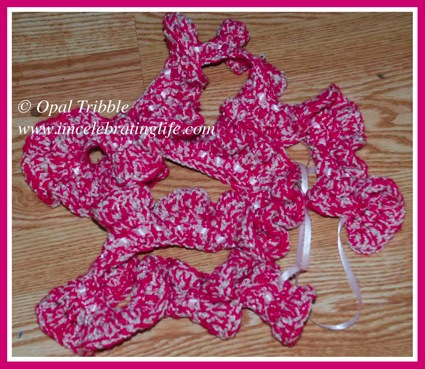 Crochet Curly Scarf 2