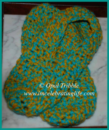Crocheted Slippers 04 04 12