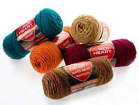 Red Heat Super Saver yarn