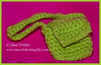 Crochet messenger bag 2