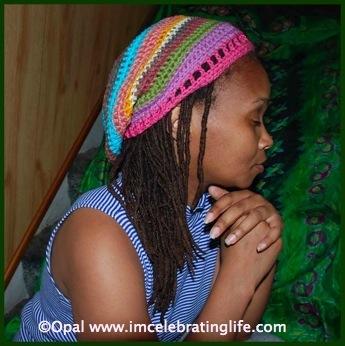 Crochet Scraptastic hat 1