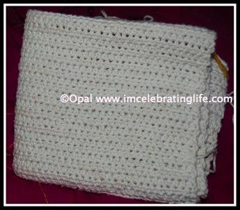 Crochet half double crochet