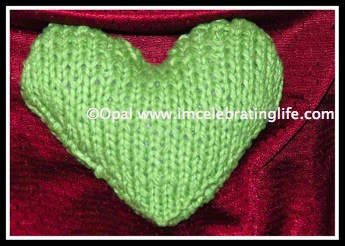 Knitted Heart 1