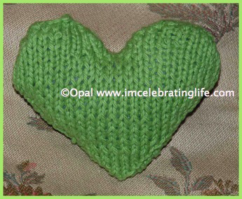 Knitted Heart 2