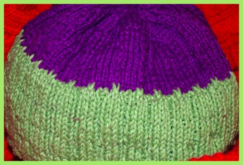 Knitted beanie hat patterntest 1 06 29 12