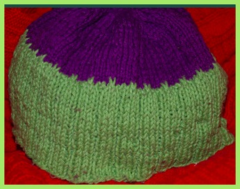 Knitted beanie hat patterntest 2 06 29 12