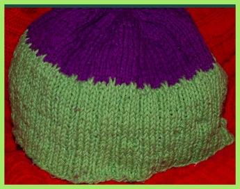 Knitted beanie hat patterntest 2 06 29 12
