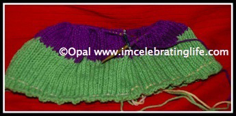 Knitting beanie hat 2
