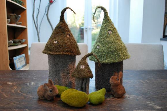 Fairy Castles by Tiny Owl Knits