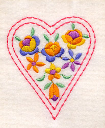 One of the free downloadable embroidery items available at the Brother.com website