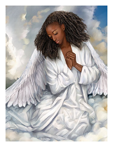 African American Angel