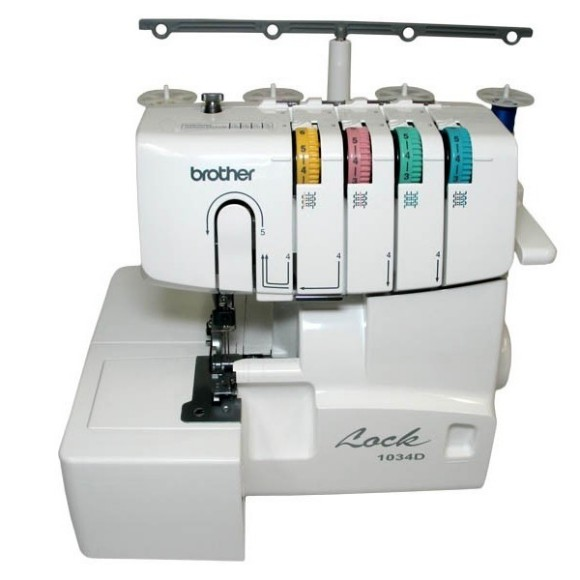 Serger machine:  Brother 1034D