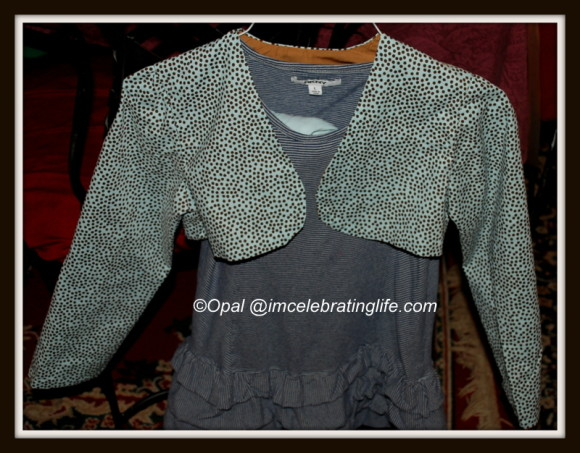 Sewing: daughter's jacket