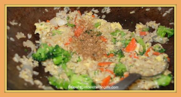 Vegan.Veggie stir fry.11.18.13