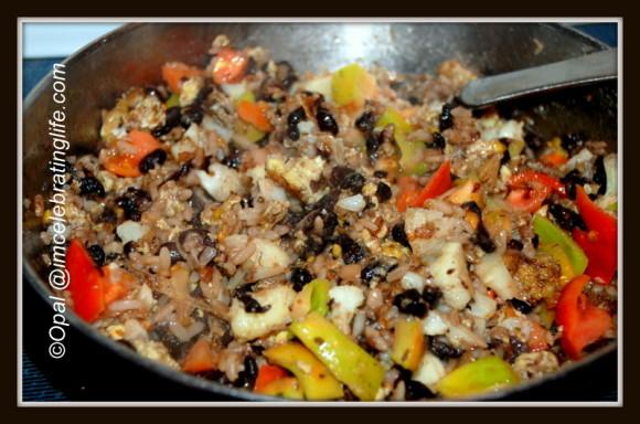 Vegetarian Black Beans n Rice_3.11.12.13