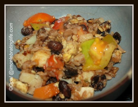 Vegetarian Black Beans n Rice_5.11.12.13