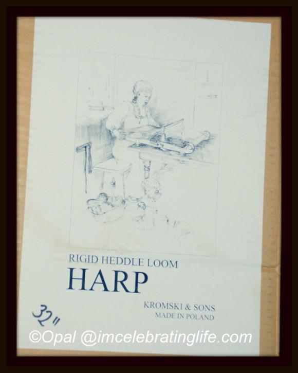 32 Kromski Harp Rigid Heddle Loom_1