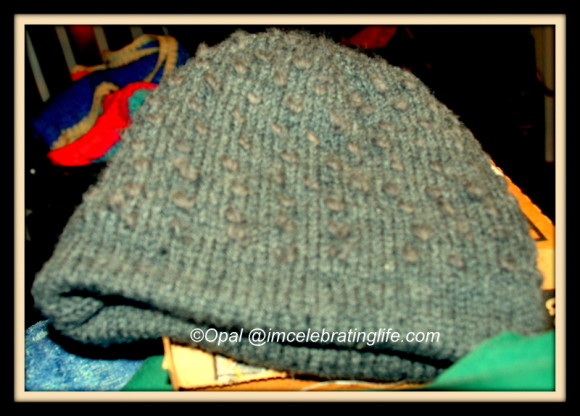 Knitted lined thrummed hat_1.12.22.13