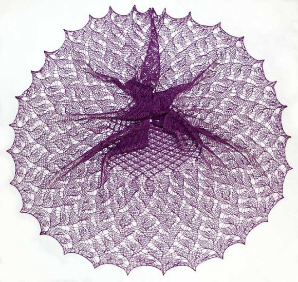 Knitting_Anna Yamamoto_shawl design_Longsuffering