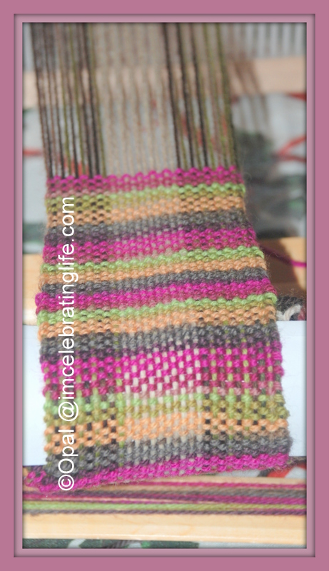 Weaving Kromski Doll Scarf_1