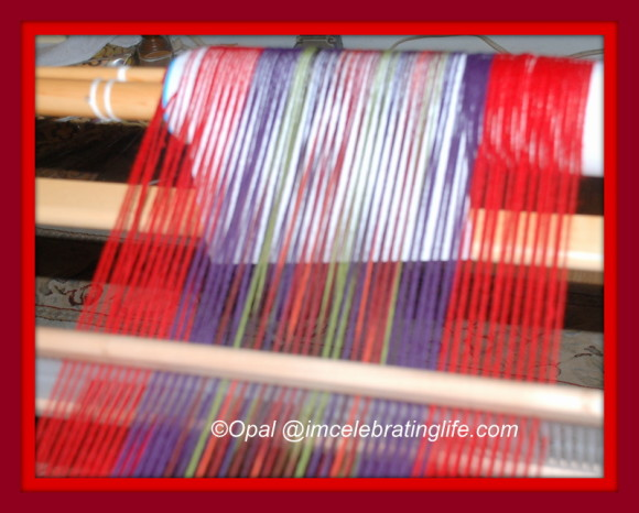 Loom weaving.01.29.14