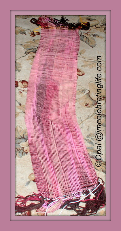 Woven scarf with 32 Krmoski Harp_2