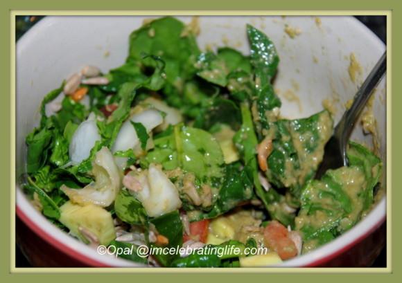 Spinach Salad 1 03.13.14