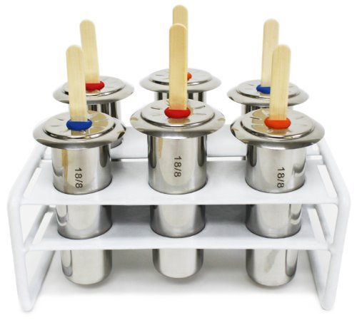 Steel popsicle molds