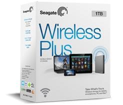 1 TB Seagate Wireless Plus