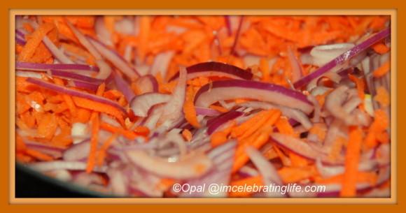 Onion & Carrot Pulp  4.2.14