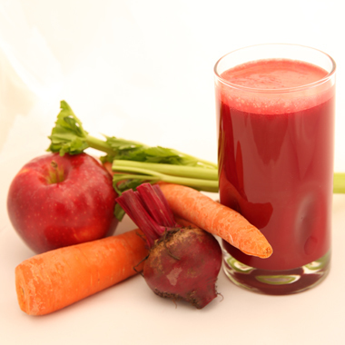Apples,carrots and beets