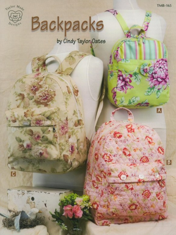 Backpack pattern by Cindy Taylor Oates