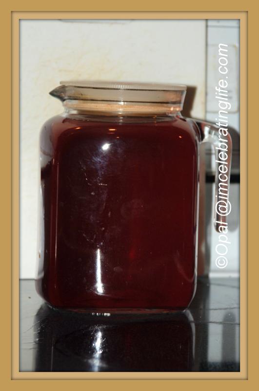Hibiscus tea.10.21.14