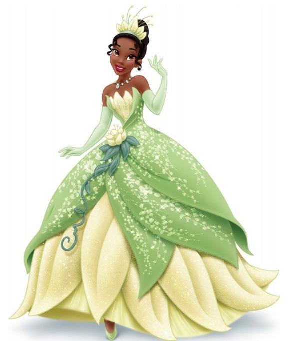 Tiana frog princess