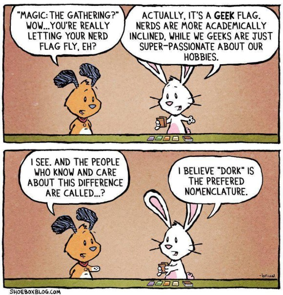 Geek.Nerd.Dork