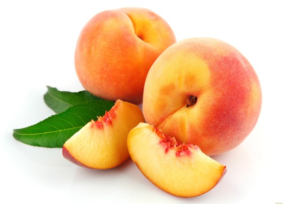 I love peaches...