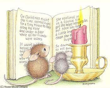 Houe Mouse Christmas Stamp