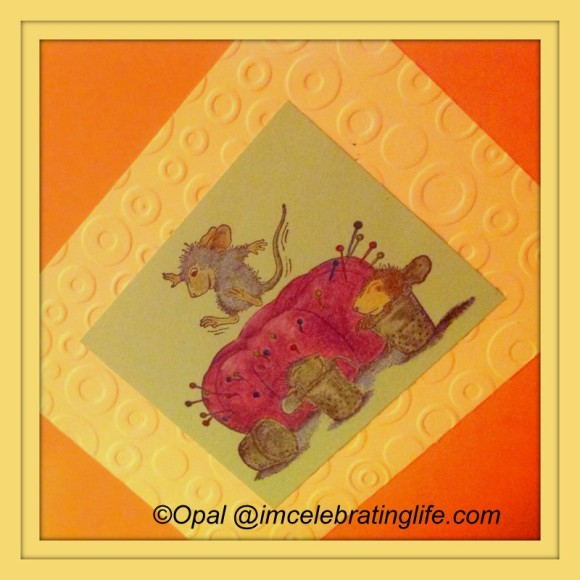 House Mouse Series - Pin Cushion