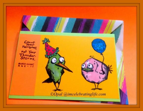 Cardmaking: Tim Holtz; Bird Crazy
