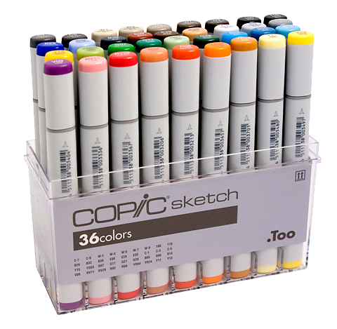 Copics Sketch Markers - 36