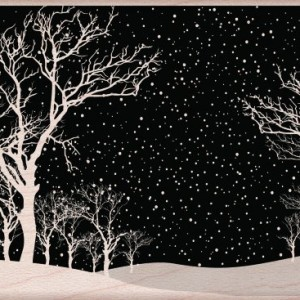 Hero-Arts-Snowy-Night-Woodblock-Stamp-0-300x300